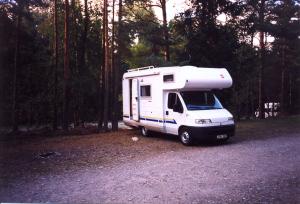 Vår första (hus)bil 1999.