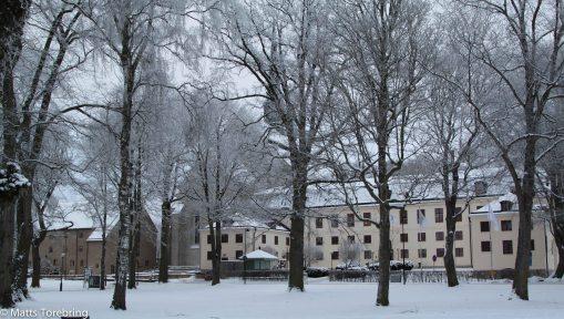 Vadstena klosterhotell, kan det vara något mitt i vintern?