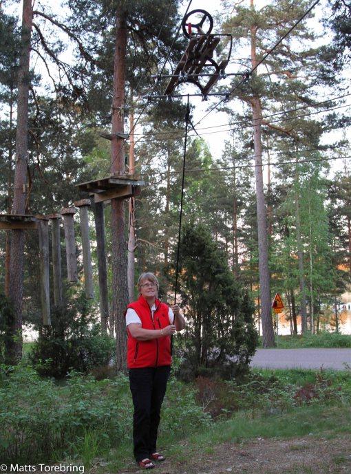 Vid Torpön finns även en äventyrsannläggning.