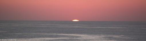Och så är solen borta. Ett helt facinerade skådespel