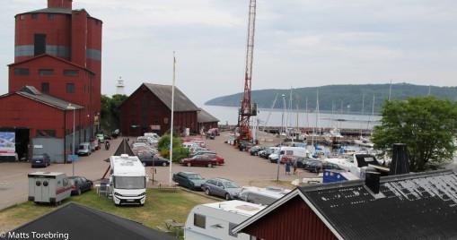 Hamnen Hästholmen.