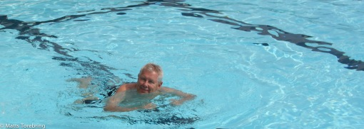 Jag tänkte simma 1000 meter i ett svep...