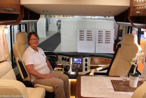 Trevlig cockpit i Morello samt även Concorde