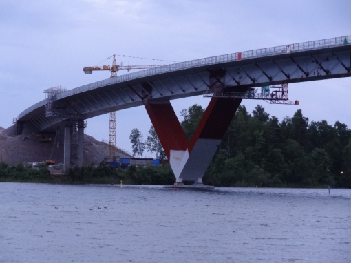 Nya bron i Motala