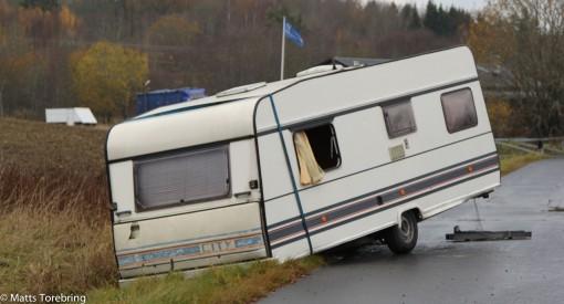Någon som lämnat sin husvagn i diket och köpt en Kabe husbil kanske.