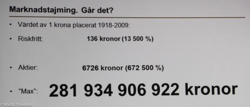 Placera din pengar rätt, Nordea
