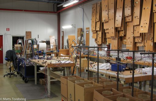 Rundvandring i husvagnsfabriken