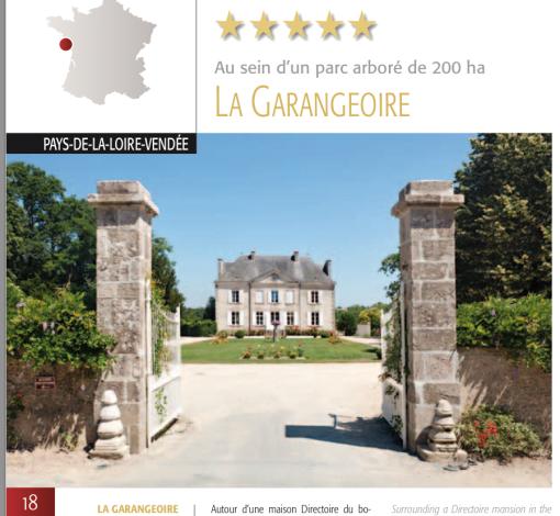 Välkommen till de franska slottscampingarna