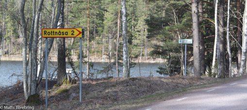 På väg mot Ödeshög och den lilla smala vägen över Duvebo