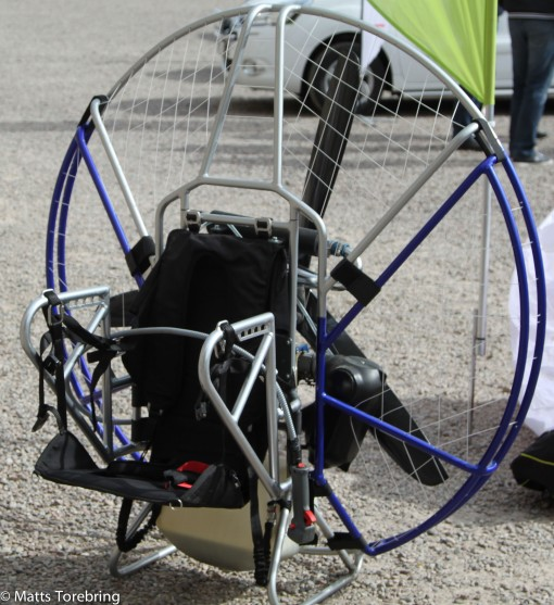 Cockpit på flygmaskinen