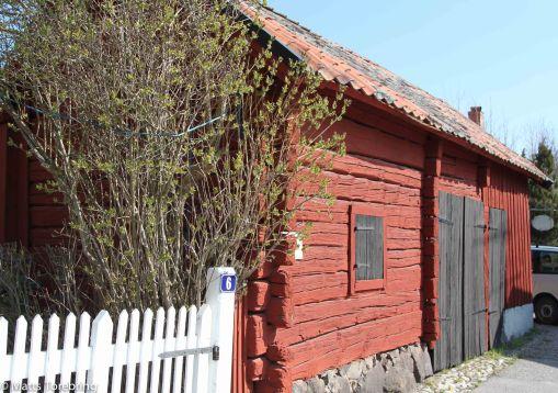 Fantastiskt att se alla väl bevarade  gamla hus