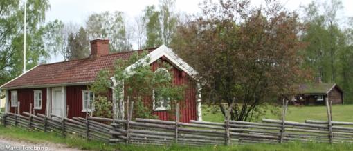 Första huset i Hembygdsparken Gislaved