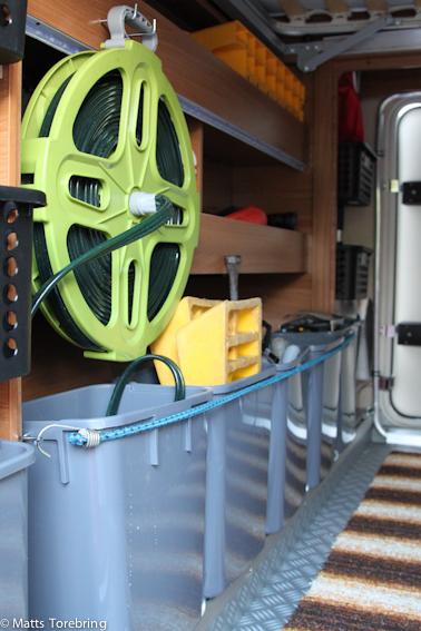 Sju styck 12 liters avfallshinkar för tyngre saker