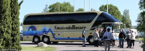 Bussresa för för de som önskar till Huskvarna Fabriksmuséum.