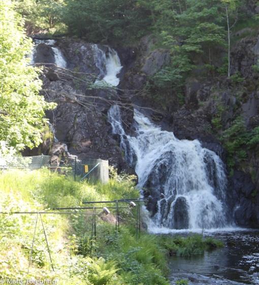 Södra Sveriges högsta vattenfall gjorde att det startade just här