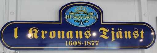 Husqvarna har varit en mycket stor leverantör av vapen och MC till Kronan