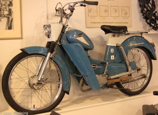 Ungdomskompisen Börjes moped som alltid bara stannade