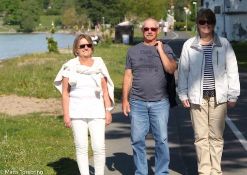 Kvälls- & strandpromenad in till Jönköping City.