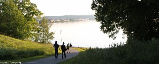 På väg hem efter en helt fantastisk dag i Huskvarna och Jönköping
