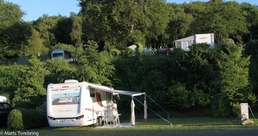 Vår plats nr 46 på campingen.