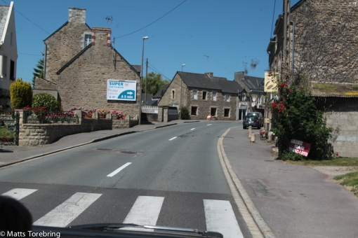 Vi lämnar Normandie och reser mot Bretagne