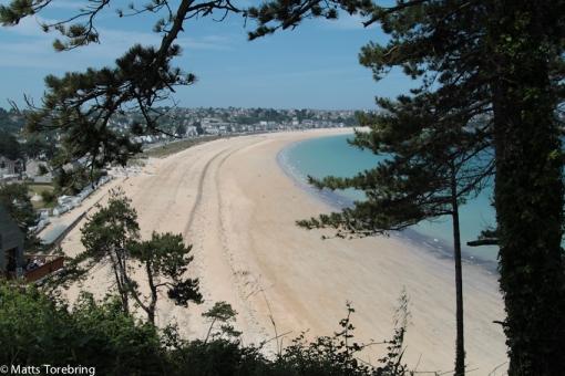 En ny beach norr om vår utsiktsplatå
