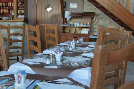 Samtliga Les Castel restauranger har haft god mat i trivsam miljö