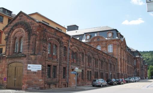 Målet för dagens resa är Villeroy & Boch porslinsfabrik i Mettlach, Tyskland