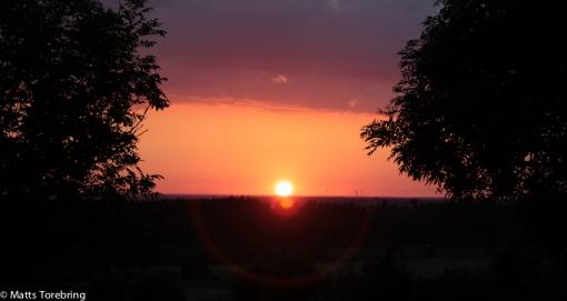 Solen lämnar oss denna dag