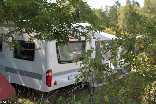 Plats nr 13 på Löttorps Camping