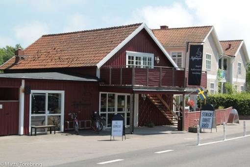 Bageriet i Böda, många, många besök här, så även idag