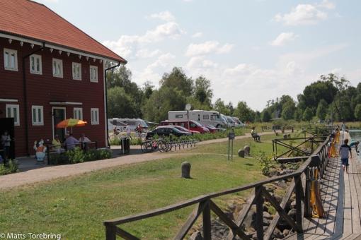 Nya ställplatsen i Borensberg.