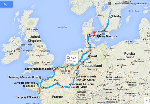 Vår Tour in France sommaren 2014