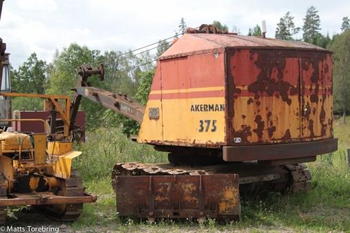 Dessa Åkerman grävmaskiner, minns jag mycket väl från mitten av 50- talet