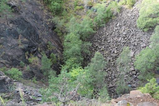Ett gruvschakt