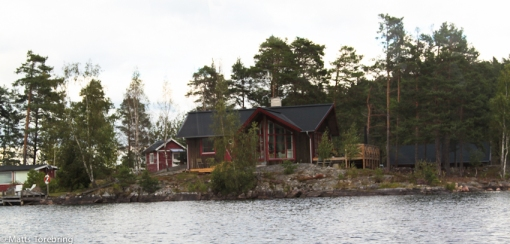 Ägaren till huset äger även hela ön han bor på