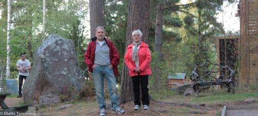 Vår trotjänare Christer med hustru Anita