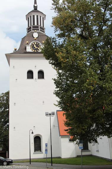 Vi cyklade förbi S:t Getruds kyrka