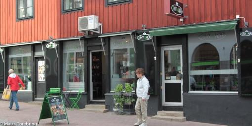 När vi är i Västervik, hälsar vi alltid på hos Tant Grön