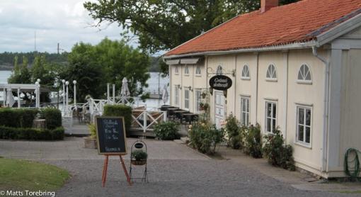 Nu har vi kommit till Gränsö Slottscafé