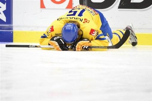 Denna hockeyspelare får symbolisera vad många av oss känner i dag