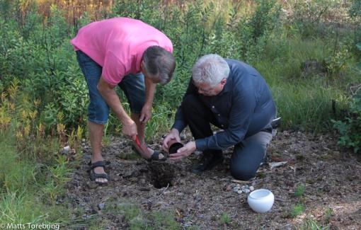 Skogsplantering på Jan & Milles tomt