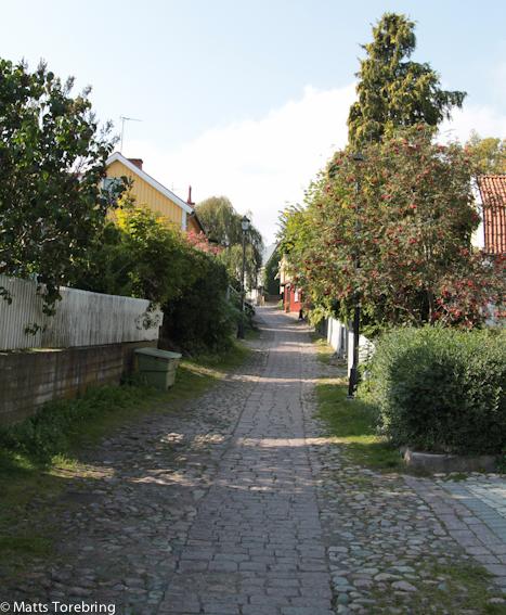 Besvärsgatan i Oskarshamn