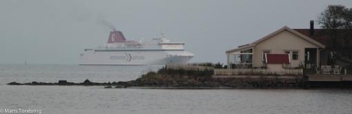 Oväntat besök av Gotlandsbåten
