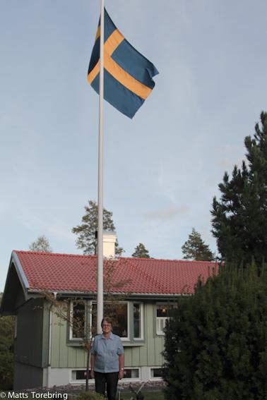 Faggan hissad för Birgitta