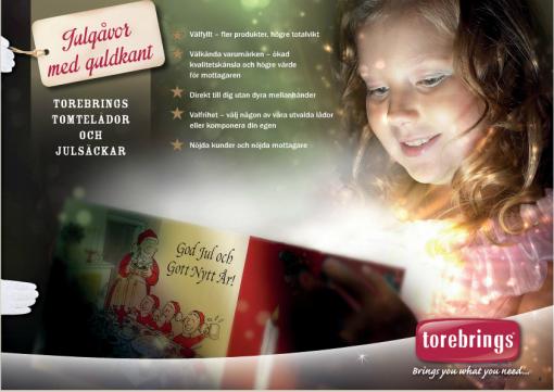 Julens Gåvor 2014 från Torebrings.