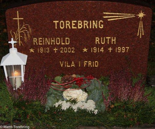 Pappa Reinhold ville att deras gravsten skulle komma från stenbrottet.