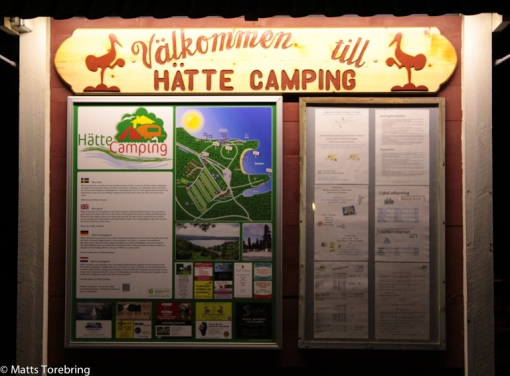 En riktigt trevlig camping