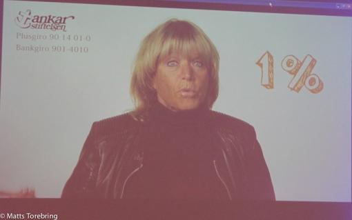 Lill Babs Svensson talade på en film varför hon är engagerad i Ankarstiftelsen
