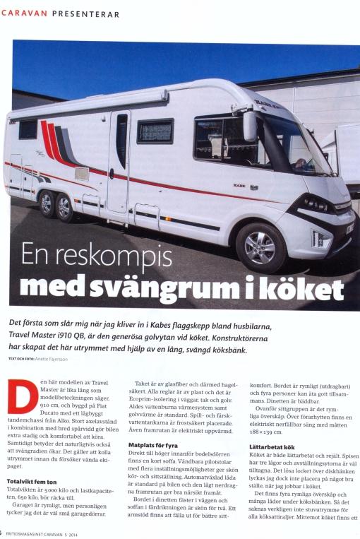 Fritidsmagasinet Caravan nummer fem 2014